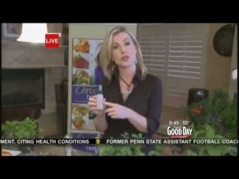 "Christianne Klein ""The Herb Queen"" sharing Recipes, Beauty Tips and more on Good Day Sacramento"