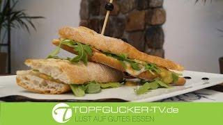 Burger | Baguettes | Sandwiches | Rezeptempfehlung Topfgucker-TV