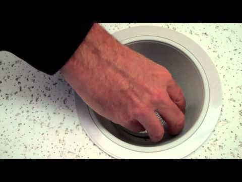 "How to install a 6"" recessed baffle trim"