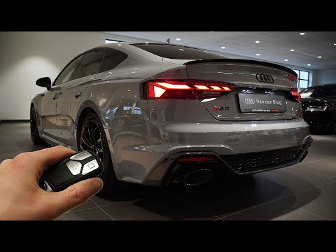 2021 Audi RS5 Sportback (450hp) - Sound & Visual Review!