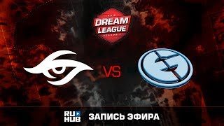 Secret vs Evil Geniuses, DreamLeague Season 8, game 1 [Faker, Godhunt]