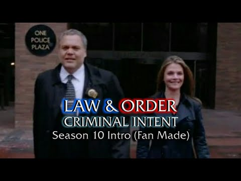 Law & Order: Criminal Intent: Season 10 Intro (Fan Made)