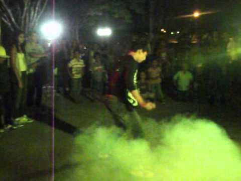 Mulekada mandando Free Step na Feira da Lua em Porto dos Gaúchos