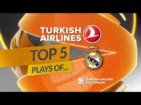 Top 5 Plays, Real Madrid