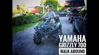 9. NEW 2017 Yamaha Grizzly 700 on 28