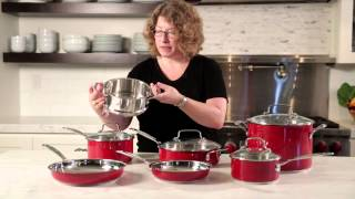 Chef's Classic™ Stainless Color Series 11 Piece Set Demo Video Icon