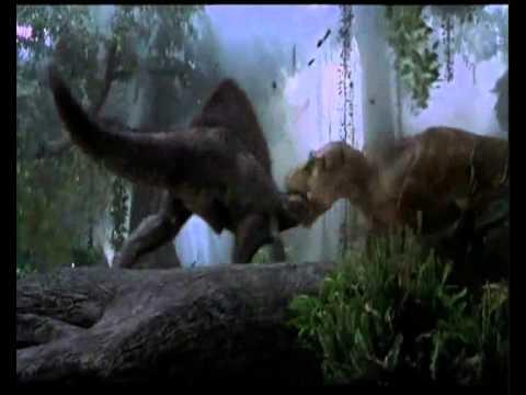 SPINO VS T. REX  Jurassic Park III (T. REX WIN) + BONUS FIGHT