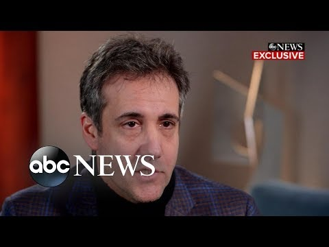 Trump knew payments were wrong, Cohen says