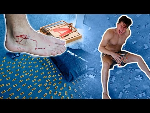 INSANE 1000 MOUSE TRAP PRANK (GONE WRONG) (видео)