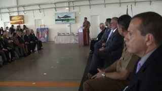 VÍDEO: Hangar do Gabinete Militar do Governo do Estado é reinaugurado após reforma