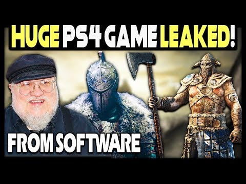 HUGE PS4 GAME LEAKED - FROM SOFTWARE'S NEXT IS INSANE!