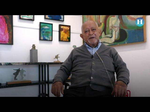 El pintor Gilberto Aceves educa para la libertad