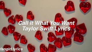 Video Call It What You Want || Taylor Swift Lyrics MP3, 3GP, MP4, WEBM, AVI, FLV Mei 2018