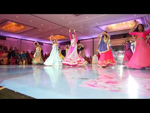 Bridesmaid's Indian Dance at Sangeet  | Nachde Ne Saare | #fromlovetoshahdi