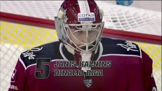 KHL Top 10 Saves of the Week 14