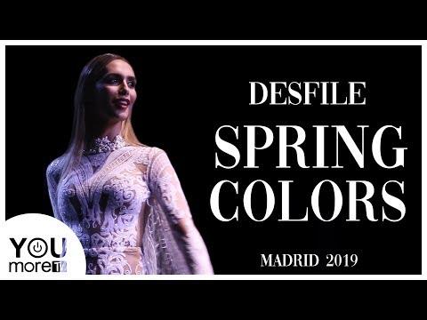 Agatha Ruíz de la Prada, Giannina Azar y Maison Mesa, desfilan en Spring Colors Mad… видео