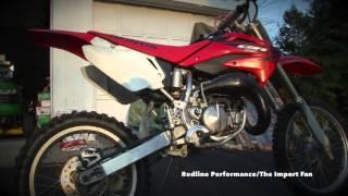 7. 2005 Honda CR85 CR85RB Startup, Exhaust, Walkaround
