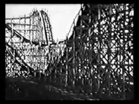 Savin Rock Thunderbolt roller coaster - bonus Boomerang & Spitfire ride clips - West Haven, CT