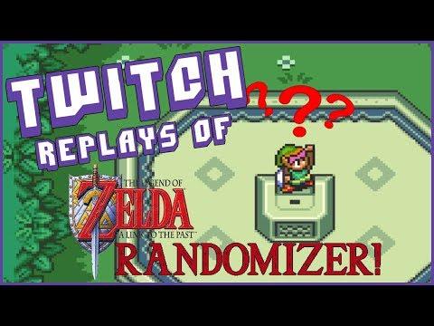 Twitch Replays: Legend of Zelda: Link to the Past - RANDOMIZER [Day 1]