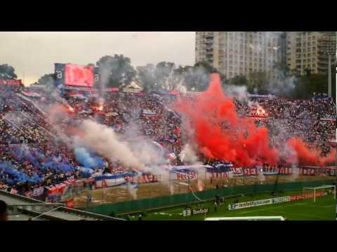 Recibimiento Club Nacional De Futbol clásico clausura 2012 (20-5-12) - La Banda del Parque - Nacional
