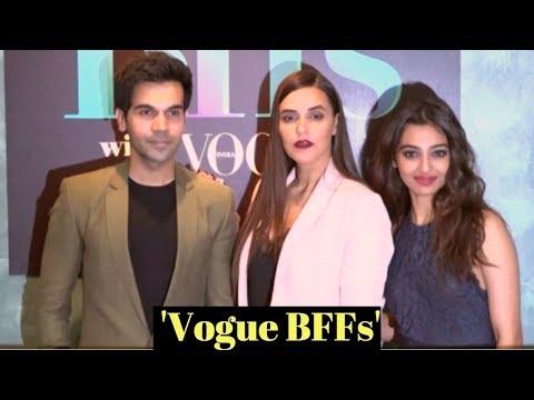 Rajkummar Rao & Radhika Apte At Neha Dhupia Show 'Vogue BFFs'