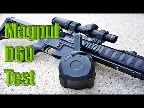 Video Magpul Pmag D60 Drum Magazine Testing download in MP3, 3GP, MP4, WEBM, AVI, FLV January 2017