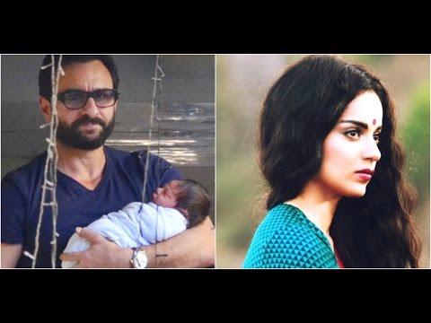 Saif Is On A Month's Paternity Leave | Kangana Wai