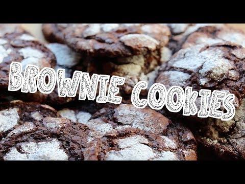 Hvordan lage myke BROWNIE COOKIES ♥