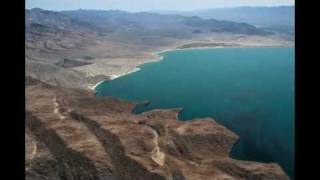 Aerial pictures of the beautiful Bahia de los Angeles area in Baja, Mexico.