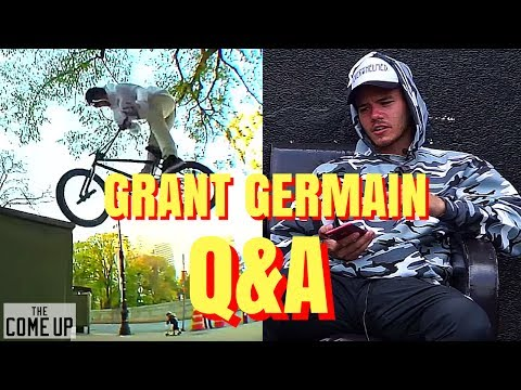 BMX- GRANT GERMAIN ANSWERS YOUR QUESTIONS (видео)