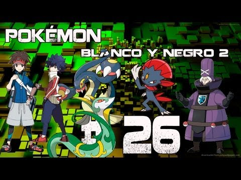 Guia/Walkthrough Pokémon Blanco y Negro 2 | Fragata Plasma ( 2ª vez ) | #26