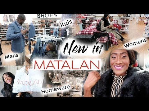 Come Shopping With Me After Church | See  What's New In Matalan  | A Fashion + Homeware Haul | Ad