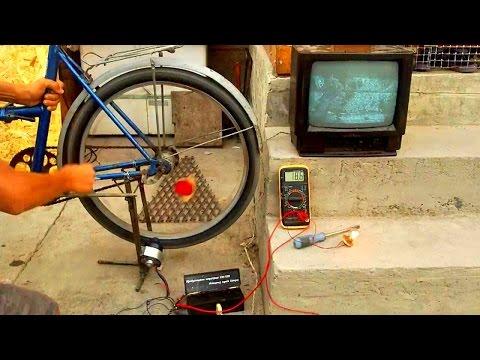 Как сделать генераторы в домашних условиях
