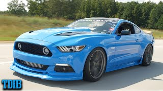 The 1400HP Supercharged Car Couple! Nemesis Mustang GT Review by That Dude in Blue
