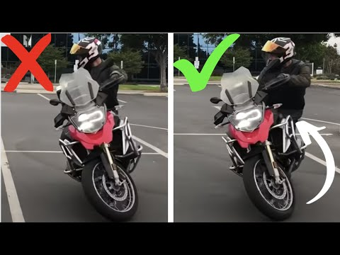 How To Do A U-Turn On A Motorcycle!