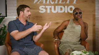 Wyclef Jean and Greg Glenday, Shazam's Chief Revenue Officer, talk about their new branded music partnership. Jean is a fan of technology believing it's possible to geek out on tech without messing up your creativity.http://bit.ly/VarietySubscribe