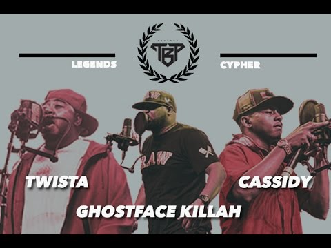 Twista Ft. Ghostface Killah & Cassidy  - Legends Cypher