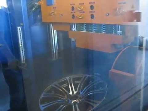Тест литых дисков WSP Italy W670 M3 LUXOR на косой удар обода (БМВ)