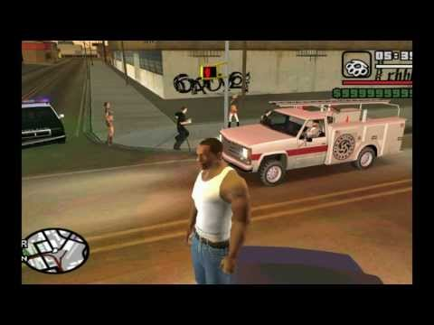 GTA: San Andreas - Funny Moments And Stuff