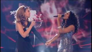 Video Xfactor final 2008: Alexandra & Beyoncé - Listen MP3, 3GP, MP4, WEBM, AVI, FLV Mei 2019