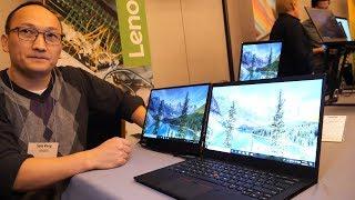 $1709 Lenovo ThinkPad X1 Carbon (7th Gen) 2019 with second monitor, $1929 ThinkPad X1 Yoga (4th Gen)