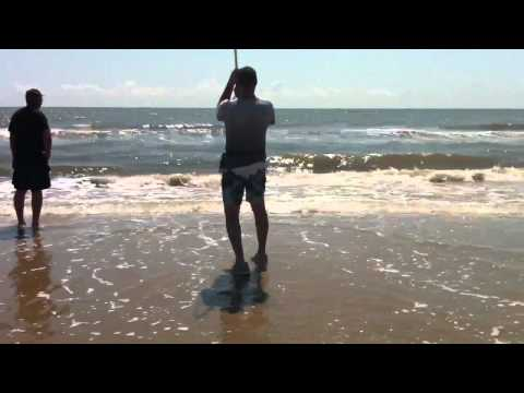 Double Redfish Hookup – Sept 2012