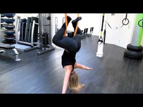 Exclusive Training Richmond - Lisa Cuerden talks Anti-Gravity Yoga