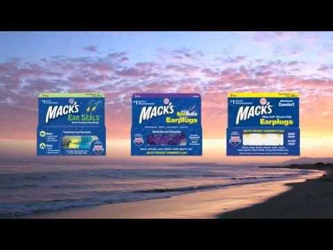 Tapones para los oídos Mack's