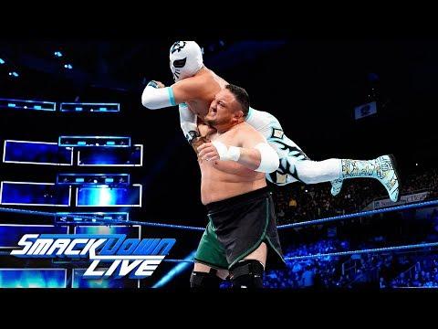 Samoa Joe debuts on SmackDown LIVE in the Superstar Shake-up: SmackDown LIVE, April 17, 2018