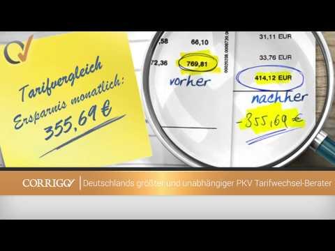 CORRIGO AG - Deutschlands größter unabhängiger PKV-Tarifwechsel-Berater