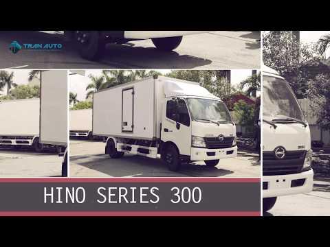 Xe tải bảo ôn Hino 300 Series - Trang nhã và lôi cuốn tại Tran Auto