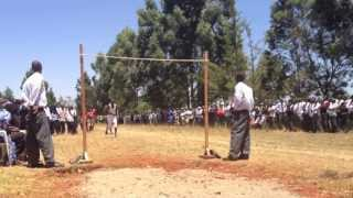 Kenyan High School High Jump - These Boys Are So Good