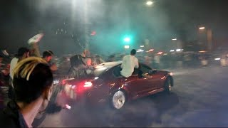 Video G8 Crashes Into ENTIRE CROWD! Car Meet Gone BAD.. MP3, 3GP, MP4, WEBM, AVI, FLV Februari 2019