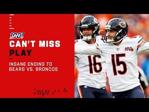INSANE Ending to Bears vs. Broncos!